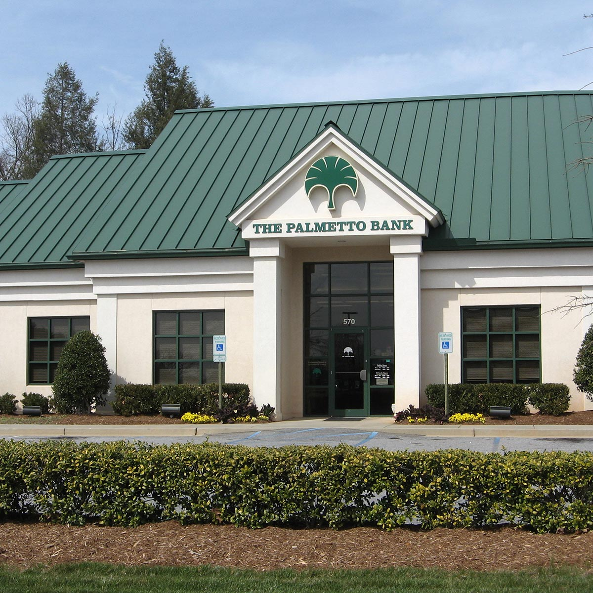 The Palmetto Bank - Travelers Rest