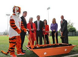 Clemson Selects DPR-Sherman Team for Football Ops