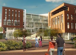 Clemson's College of Business Construction Doubles as Classroom