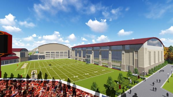 Virginia Tech Indoor Athletic Facility