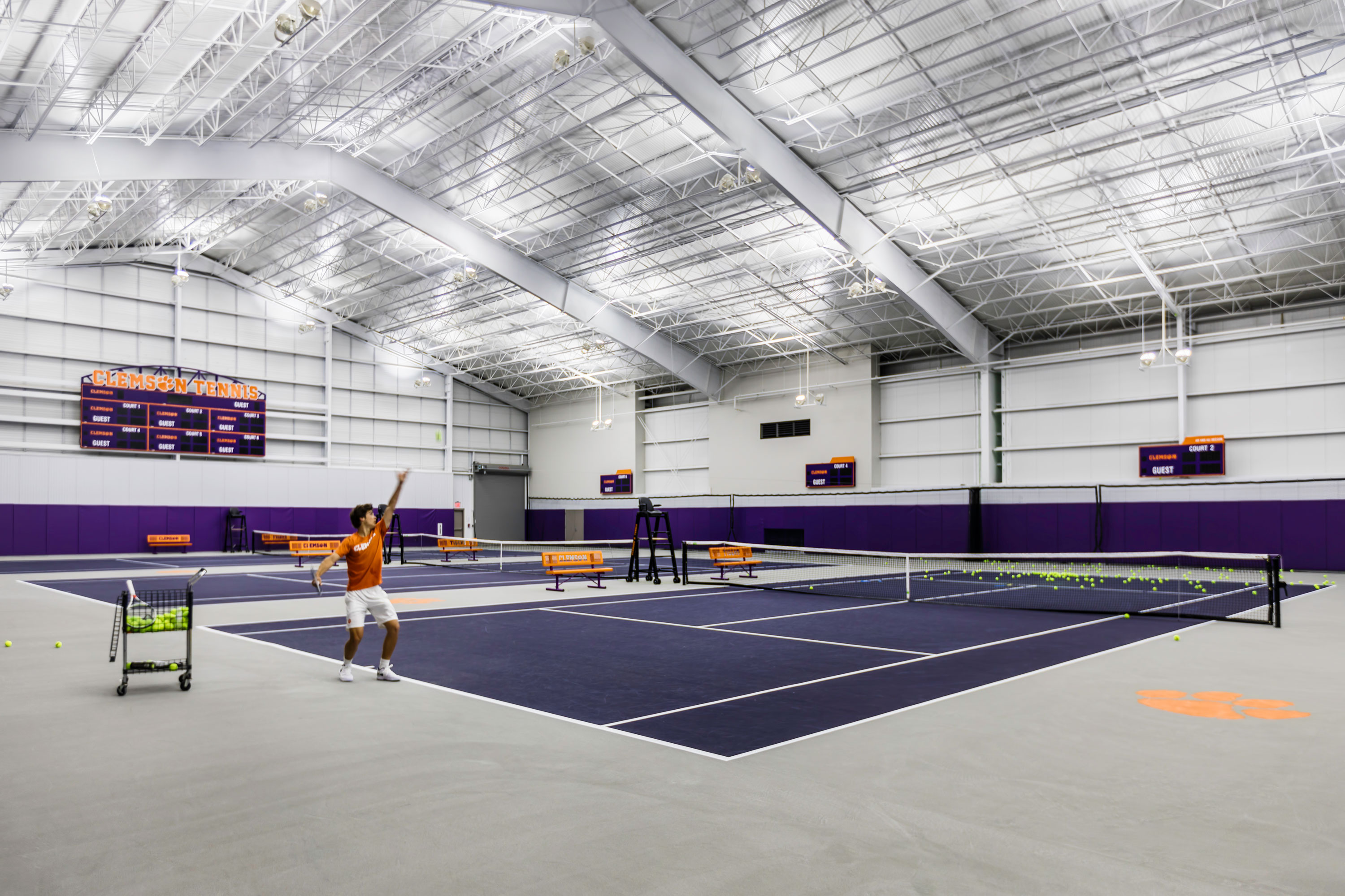 Clemson University Duckworth Family Tennis Facility
