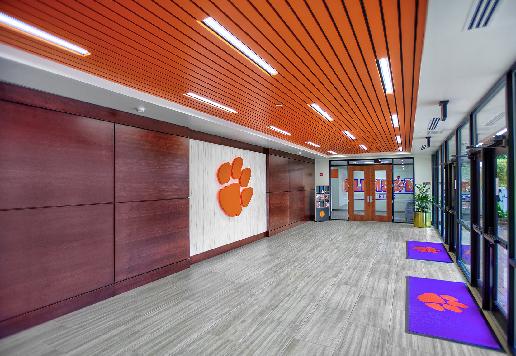 Clemson University McFadden Office Renovation